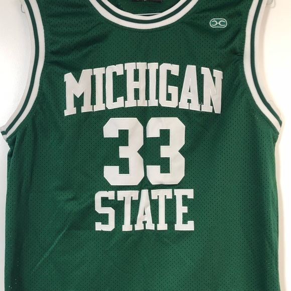 4c77806b772 Hardwood Legends Other - Throwback Michigan State Basketball Jersey Size L